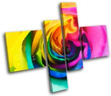 Rainbow Rose Floral - 13-0683(00B)-MP20-LO